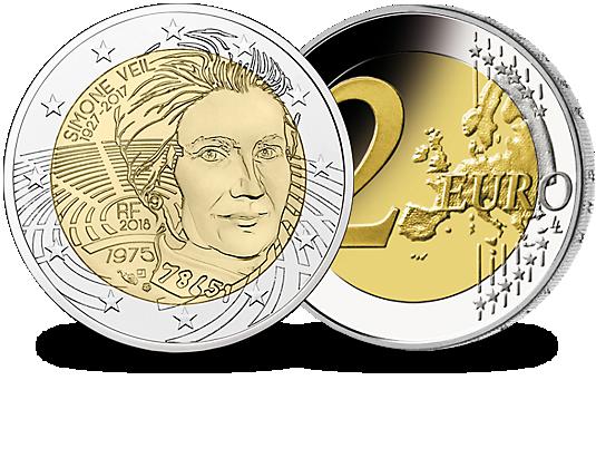 piece de monnaie simone veil
